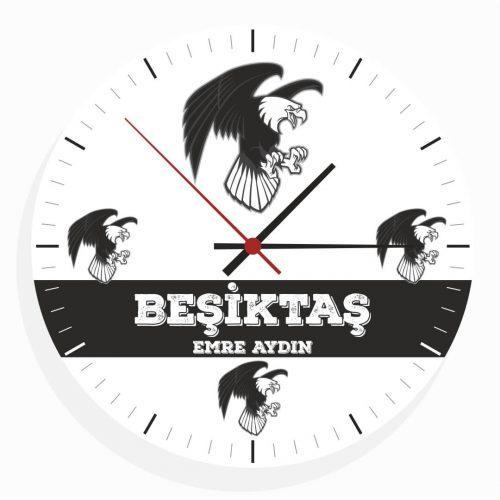 İsimli Beşiktaş Duvar Saati