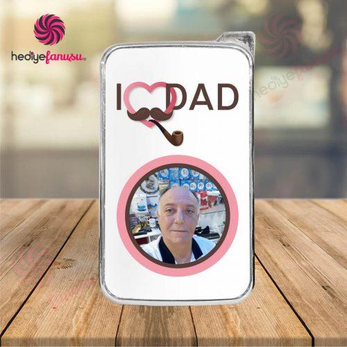 I Love Dad temalı çakmak