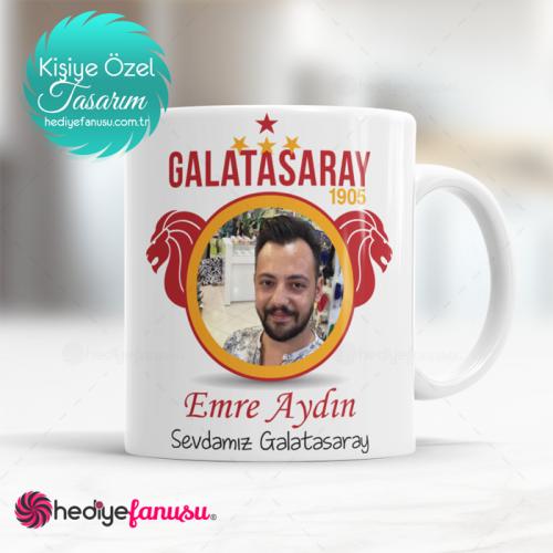 Galatasaray Resimli 4 Yıldızlı Kupa Baskısı
