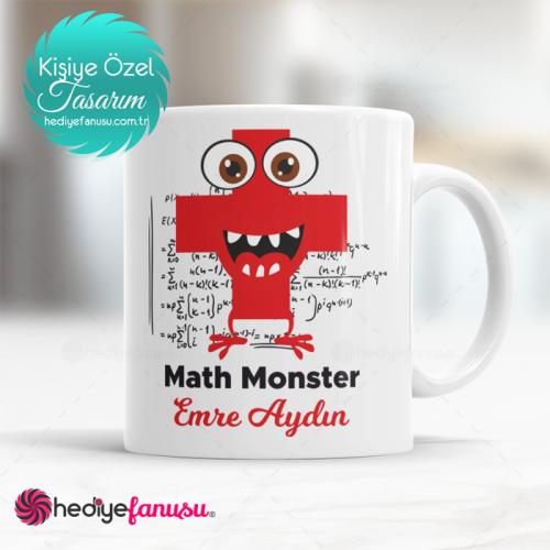 Matematik Canavarı(Math Monster) Temalı Kupa