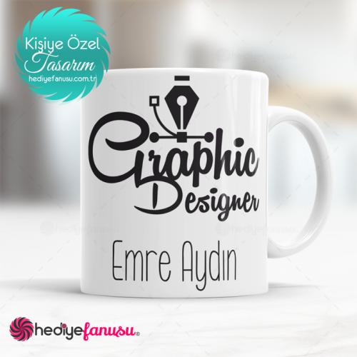 Grafik Tasarımcı Kupa Bardak