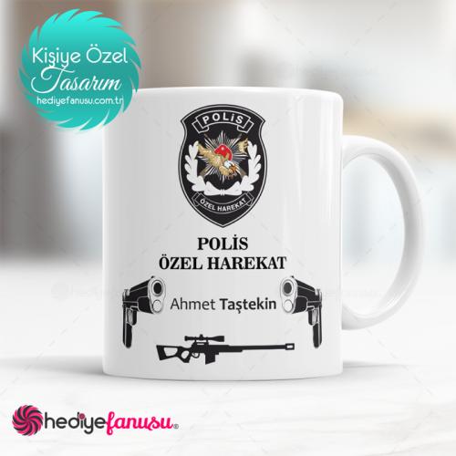 Polis Özel Harekat(PÖH) Kupa Bardak (2. Tasarım)
