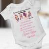 Babalar Günü Hediyesi Kız Bebek Zıbını