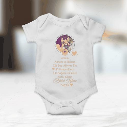 Doğum Günü Hediyesi Kız Bebek Zıbını