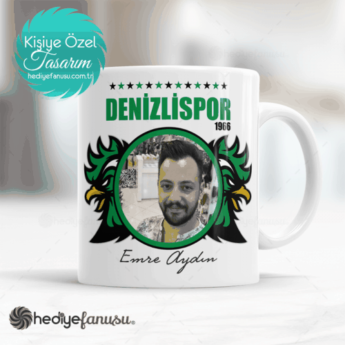 Denizlispor Resimli 3 Yıldızlı Kupa Bardak