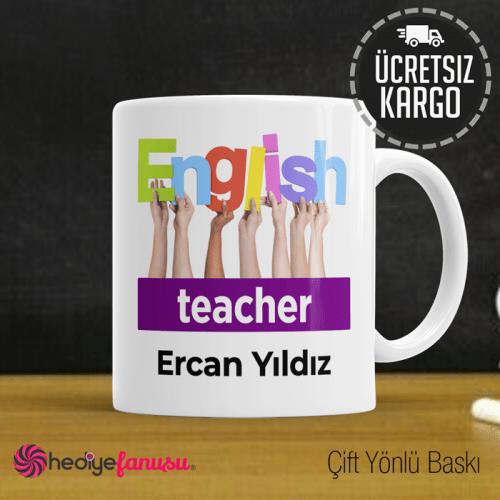 İngilizce Öğretmeni Kupa Bardak 1
