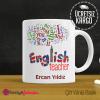 İngilizce Öğretmeni Kupa Bardak 4