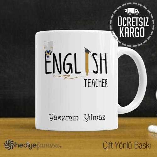 İngilizce Öğretmeni Kupa Bardak 5