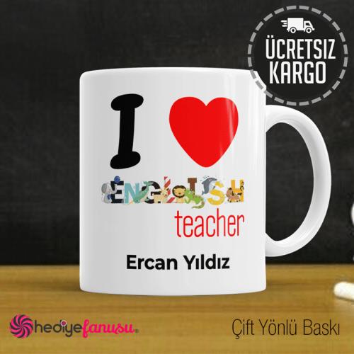 İngilizce Öğretmeni Kupa Bardak 6