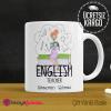 İngilizce Öğretmeni Kupa Bardak 7