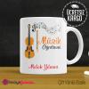 Müzik Öğretmeni Kupa Bardak 1